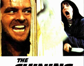 The Shining mini movie poster