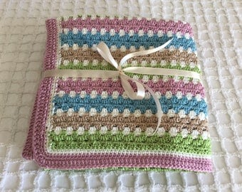 Crochet Lap size Blanket - perfect for when you're sitting on the lounge!