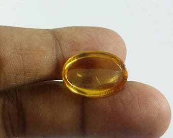 ON SALE Awesome Natural Citrine Cabochon,Loose  gemstone  Shape-Oval  Size- 18x13x6 MM   Weight -9.20 Ct  #373