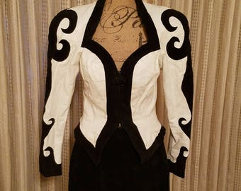 Vintage Marissa Tomei Leather Outfit as seen in the movie My Cousin Vinny