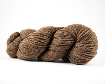 Worsted weight Shetland wool Hickory