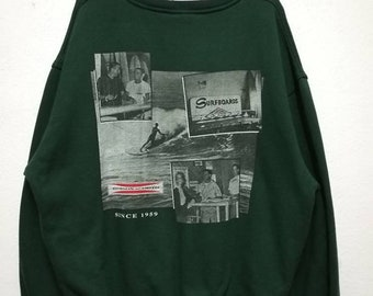 Vintage Gordon And Smith Surf Surfboards Sweater Sweatshirt
