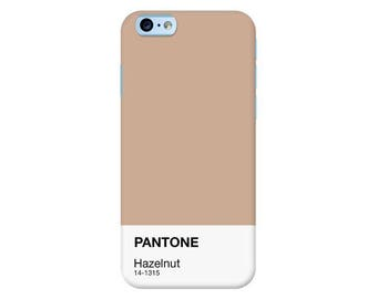 Pantone NY Spring Collection 2017 | Hazelnut Custom Phone Case for iPhone, Google Pixel, Samsung Galaxy and more