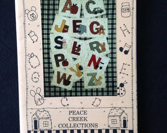 ABC QUILT / BOOK Peace Creek Collections  Pattern
