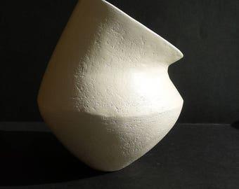 Hand built Coiled pot