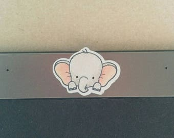 Cute Elephant webcam cover
