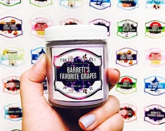 Barret's Favorite Grapes