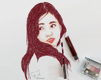 Makeup Drawing