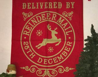 Santa Sack / Christmas Sacks / Christmas Bag / Personalized Santa Sacks / Custom Santa Sack / Santa Bag / Santa Claus Bag / Christmas Bag