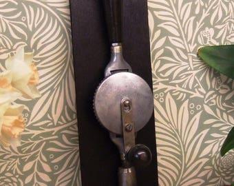 Vintage aluminium carpenters hand drill