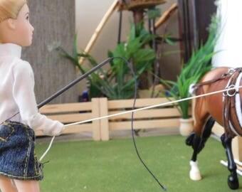 Lunge Whip for Model Horse (1:9)