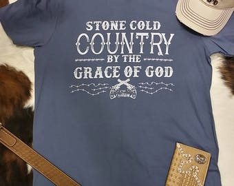 Stone Cold Country Mens T shirt