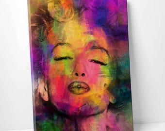 "Canvas picture ""Marilyn 3"" by Mark Ashkenazi"