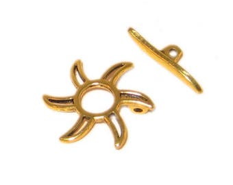 20mm Antique Gold Toggle Clasp