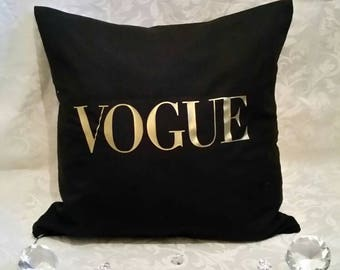 Vouge inspired cushion