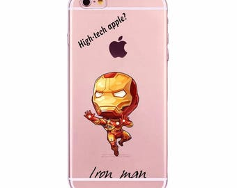 Cute Iron Man Tony Stark Avengers Phone Cases