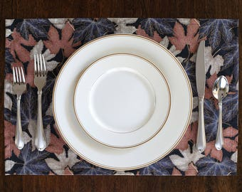 Handmade Autumn Leaves Placemats (set of 4)
