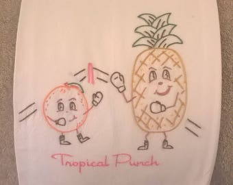 Tropical Punch Kitchen Towel