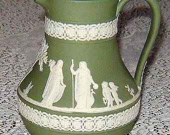 Wedgewood Jasperware pitcher