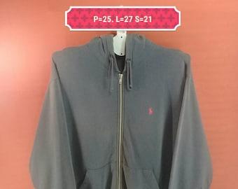 Vintage Polo Ralph Lauren Hoodie Sweatshirt Black Colour Size S Nike Sweatshirts Supreme Sweatshirts Hip Hop Polo Sport
