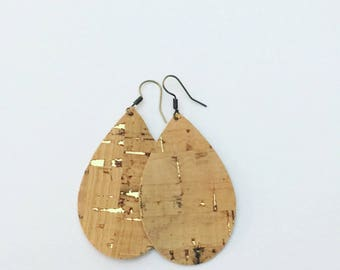 Cork large teardrops