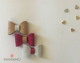 Girl Foam Glitter Bows