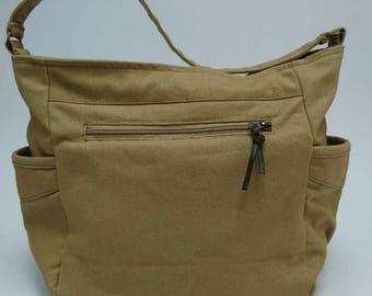 Tote bag , Shoulder bag , canvas bag , Handmade bag