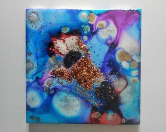 One of a Kind Hand Painted Tile/Trivet