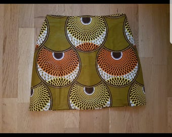 ankara mini skirt