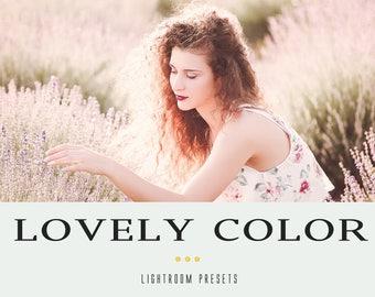 Lovely color professional lightroom presets