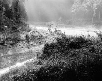 Mist at Sunrise - Original landscape photograph