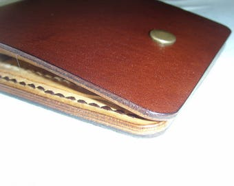 "Leather wallet mini ""Сompact"""