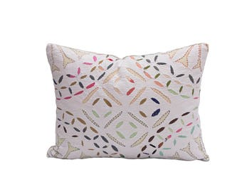 small quilted pillow
