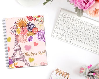 Autumn In Paris Planner Cover Personalized Dashboard Erin Condren Recollections A5 Personal Pocket Personal