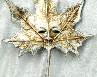 Autumn Leaf Sterling Silver