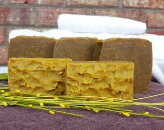 Lemon Verbena Natural Body Soap, Natural Skincare, Artisan Soap, Handmade Soap, Essential Oil Soap, Homemade Soap, Rustic Soap, Gift For Her