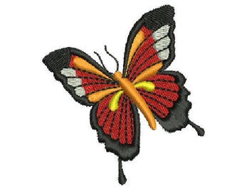 NeedleUp - Butterfly embroidery design