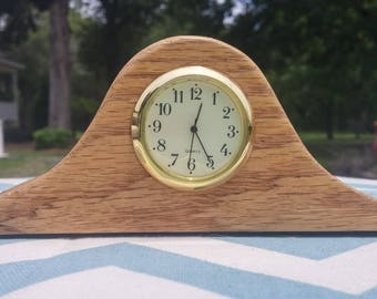 Miniature Mantle Clock, Times Font