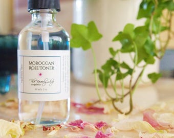 Moroccan Rose Toner / Facial Spray