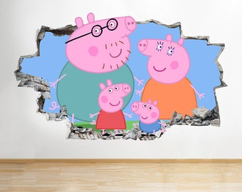 Peppa Pig Room Decor Etsy