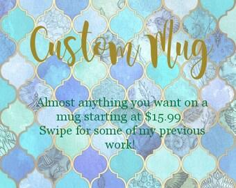 Custom Mug Order