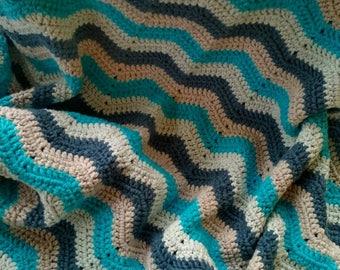 Zigzag Baby Blanket