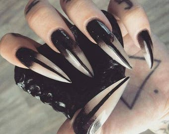 Witchy Glue On Nails