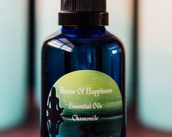 Chamomile oil for skin conditions
