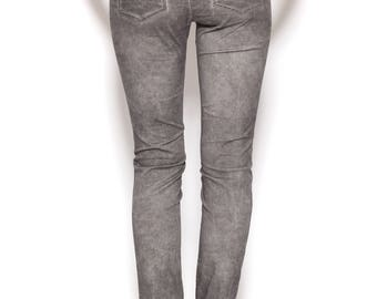 Grey Pants, Skinny Pants, Pencil Pants, Skinny Jeans, Grey Jeans, Womens Jeans, Cotton Pants, Casual Wear, Long Pants, Womens Skinny Jeans
