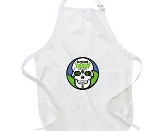 Fermenthead Apron - White