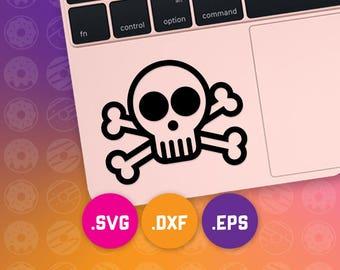 skull svg, skull dxf, skull cut file, skull eps, punk svg, punk dxf, punk cut file, punk cameo, punk cricut, girl skull svg, goth skull svg