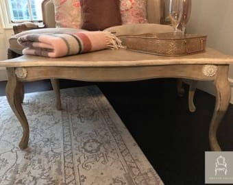 French-Style Coffee Table