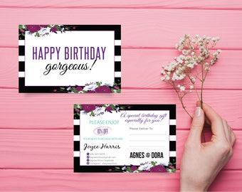 Agnes and Dora Birthday Card, Birthday Coupon Agnes and Dora, Custom Agnes And Dora, Digital Agnes and Dora, Printable File