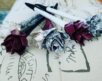 Wedding Flower Pens
